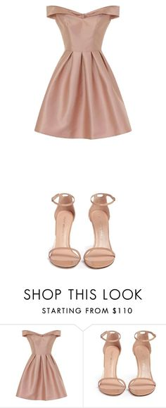 """Untitled #42"" by erisaoktarina on Polyvore featuring Chi Chi and Stuart Weitzman"