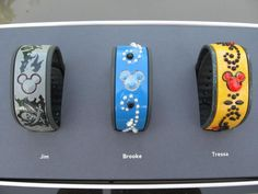 Has anyone decorated their Magic Bands? Please show us the pictures! - Page 64 - The DIS Discussion Forums - DISboards.com