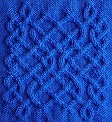 Celtic Motif (knot #52) by Devorgilla's Knitting (sometimes...)