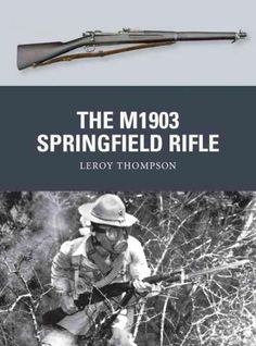 Developed to replace the Model 1892 Krag-Jrgensen rifle, the Model 1903 Springfield was a five-shot bolt-action rifle that introduced the .30-06 cartridge - the standard US round until the introductio Springfield 1903, Military Weapons, Cool Guns, Awesome Guns, M1 Garand, Bolt Action Rifle, Battle Rifle, Shooting Sports, Military History