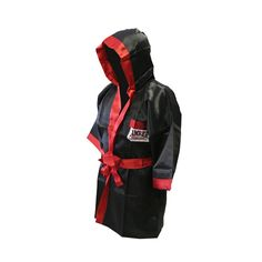 Amatuer Regular Boxing Robe-Black-Large  -  $49.00