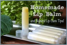 This homemade lip ba