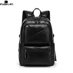 e10a872f3c61 Fashion Brand leather men backpack new high quality man's backpack large  capacity men travel bag duffel bag laptop backpack-in Backpacks from  Luggage & Bags ...