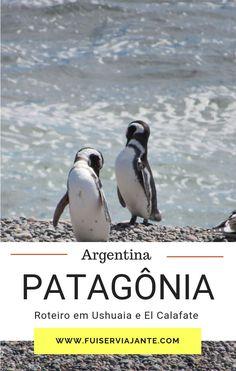 Descubra as belezas da patagônia argentina, visitando Ushuaia e El Calafate em um roteiro incrível de 8 dias, ótimo para fazer no verão! #ushuaia #argentina #elcalafate #patagonia Ushuaia, Patagonia, Puerto Iguazu, City Break, Train Travel, Luxury Travel, Where To Go, Vacation Spots, Day Trips