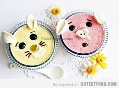 Cute Fruit Yogurt photo