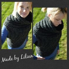 Charcoal-Inspired by Catching Fire Huntress cowl- Katniss-Cross Body Cowl