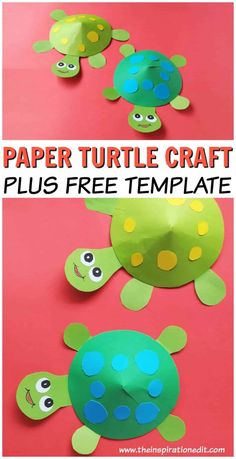 Paper Turtle Craft to Do with Kids