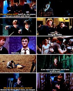Harry Potter - Harry and Ron - Only Ron stood by him.