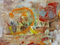Autore. Nicola soriani  Titolo.  Mangrovie Anno. 2016 Tecnica mista su tela