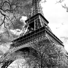 Eiffel Tower - Paris - France - Europe Photographic Print by Philippe Hugonnard at Art.com