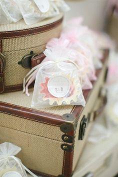#cedarwoodweddings favors.  Photography: Love is a Big Deal - loveisabigdeal.com/ Floral Design + Venue: Cedarwood Weddings - cedarwoodweddings.com  Read More: http://www.stylemepretty.com/southeast-weddings/2013/06/20/historic-cedarwood-wedding-from-love-is-a-big-deal-2/