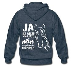 Men's Premium Hooded Jacket - yes, I smell like horse hooded jacket Horse t-shirts Horse Riding Quotes, Horse Quotes, Horseback Riding Outfits, Shirt Designs, Horse T Shirts, T Shirt Image, Equestrian Style, Equestrian Fashion, Horse Love