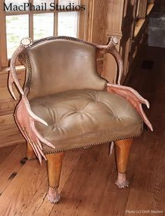 MacPhail Studio low back moose chair