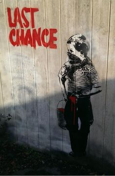 Banksy in Teignmouth, Devon, UK