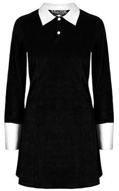 I so want this Wednesday Addams dress!