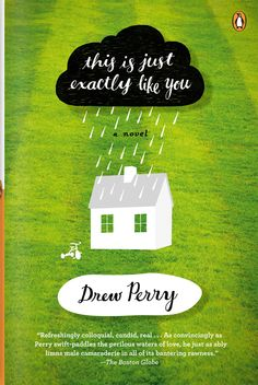 Book Cover Illustration and Hand Lettering for 'This is Just Exactly Like You'. Jim Tierney 2012