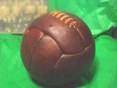 If Dad loves soccer , give him this Antique style Old World Cup 1920s style soccer ball