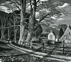 Howard Phipps   wood engraving