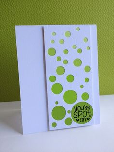 Spot On by lisaadd - Cards and Paper Crafts at Splitcoaststampers