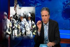 Never forget how Jon Stewart stood up for the first responders. Just a couple of years ago he was enraged by the Senate's inexcusable treatment of first responders. When Stewart sees an egregious injustice in the political system he tends to get fired up and has the ability to effect public opinion and influence legislators. One of the many reasons to ♥ Jon Stewart. read &  ..watch (video)