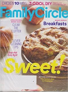 #Family Circle September 2016 #magazine #ChickenRecipes #CleaningTips