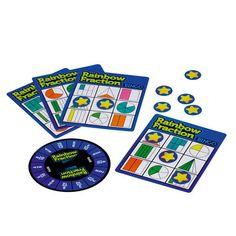 Lær brøkene på en morsom måte med å spille litt bingo hjemme samme med mor, far og søsken.