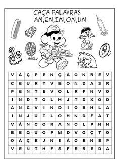 Saber e Saberes: Caça palavras sílabas complexas nh, lh, ch, rr, ss, ns, vr, br...