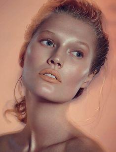 Toni Garrn for Numero Russia February 2015 | The Fashionography