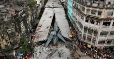 April 2, 2016 BIKAS DAS/ASSOCIATED PRESS Searching for Answers in India The police detained executives from a construction company a day after an overpass fell in Kolkata, killing at least 23. Page A5.