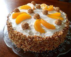 Küchenpoesie: Osterspecial: Giotto-Pfirsich-Torte