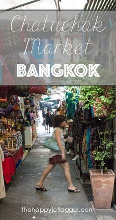 Visit Chatuchak Market in Bangkok, Thailand - the biggest market in the world! Clothes, vintage stuff, souvenirs, electronics... find everything you need to buy on your trip to Thailand!