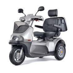 Afikim scootmobiel Breeze S3 - Snelheid: 15 km/u - Actieradius: 50 km - Maximaal gebruikersgewicht: 200kg