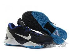 half off 72888 81c0c http   www.okkicks.com nike-zoom-kobe-7-vii-dark-knight-black-purple-blue-for-sale-j88fw.html  NIKE ZOOM KOBE 7 VII DARK KNIGHT BLACK PURPLE BLUE FO  ...