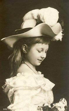 Princess Viktoria Luise of Prussia, Wilhelm's only daughter and the youngest of his 7 children.  She became the mother of one queen (Fredericka of Greece), the grandmother of another (Sophia, current Queen of Spain), and the grandmother of a king (Constantine II of Greece).