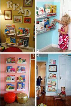 HOME DECOR: 25 Creative Kid's Bedroom Storage Ideas