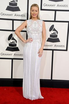 Iggy Azalea in an Elie Saab gown at the Grammys