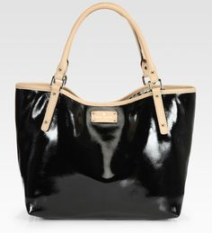 Sophie East-to-west Patent Leather Tote - Lyst
