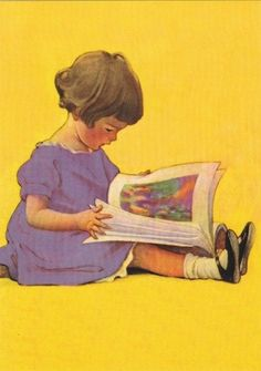 """""""My first picture book"""" by Jessie Willcox Smith"""