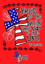 Blessed is the nation whose God is the LORD; and the people whom he has chosen for his own inheritance. Bible Art, Bible Scriptures, Bible Quotes, Scripture Verses, Bible Crafts, Faith Quotes, Happy 4 Of July, 4th Of July, Happy Sunday