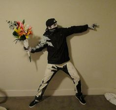 Is This a Be-Halloweened Man or a Banksy Stencil?