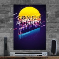Metal Poster Song Of Horror Complete Ed