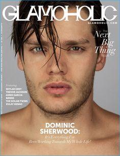 Dominic Sherwood covers the latest issue of Glamoholic.