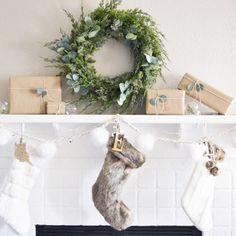 So Cozy - How To DIY Your Holiday Mantel - Photos