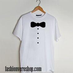 Bow Tie Tuxedo t shirt men and t shirt women by fashionveroshop