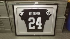 #oaklandraiders #custompictureframing #lntframing #pictureframing #customframing #bayarea #sfbayarea #raiders #oakland #shadowbox #jerseyshadowbox #jerseys