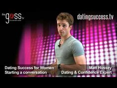 Dating Tips for Women - Starting a Conversation (GetTheGuy)  #DatingAdvice