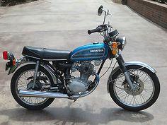 Hers: 1975 Honda CB125S