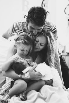 when the baby is born I want a family pic like this