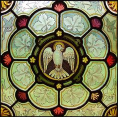 #Stained-Glass - Dove/Holy Spirit