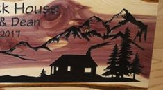 This beautiful made to order live edge cedar elk/ cabin/ mountain sign is perfect for anyone that loves the outdoors and nature. The pictures here are examples. You can have your own beautiful elk sign, made and personalized with your own words, just for you. Each piece of wood is